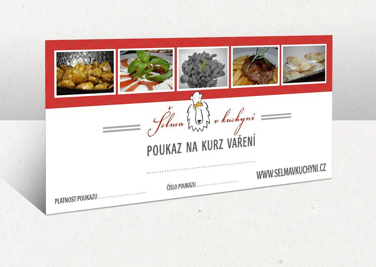 Dárový voucher na kurz vaření